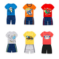 2016 Spring Children New Pattern Spring 2 Pieces Set Children's Garment Boy Girl Baby Short Sleeve T-Shirt Shorts Fashion Suit