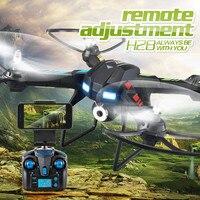 JJRC 2017 Nowy H28W 0.3MP CAM WiFi Transmisji w czasie Rzeczywistym 2.4G 4 Kanałowy 6 Axis Gyro RC Quadcopter/czarny Helikopter