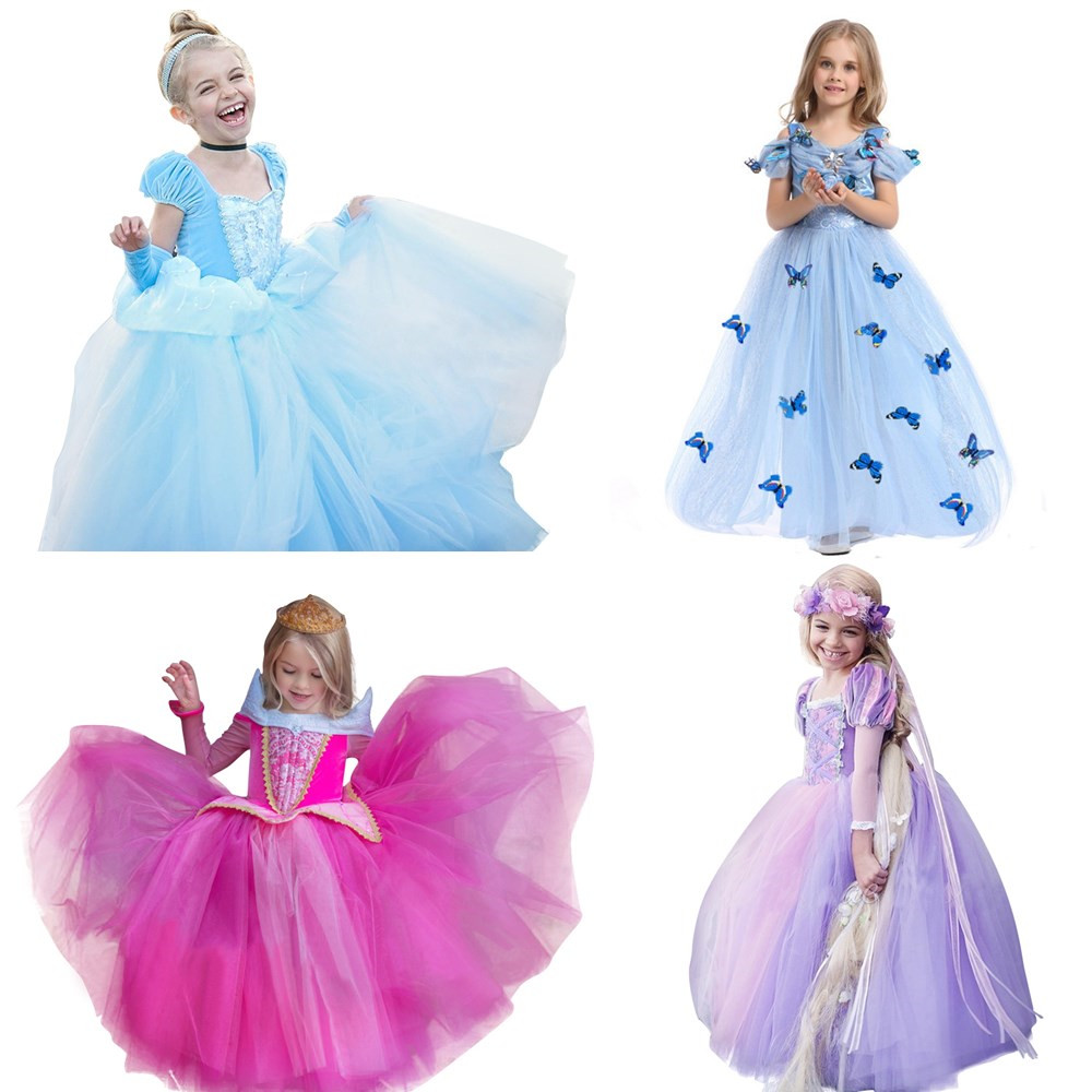 New Nip Disney Baby Girls Halloween Cinderella Costume 6: Baby Girl Halloween Rapunzel Princess Costume For Kids