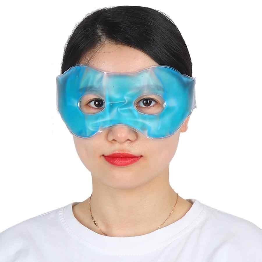 Meringankan Anti Mendengkur Reusable Anti-Kelelahan Lingkaran Gelap Dingin & Panas Kompres Tidur Masker Mata Es Pendinginan Mata masker Hidung