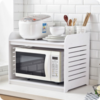 A1 Microwave oven rack wood oven shelf kitchen spice rack kitchen supplies countertop storage rack wx9031605