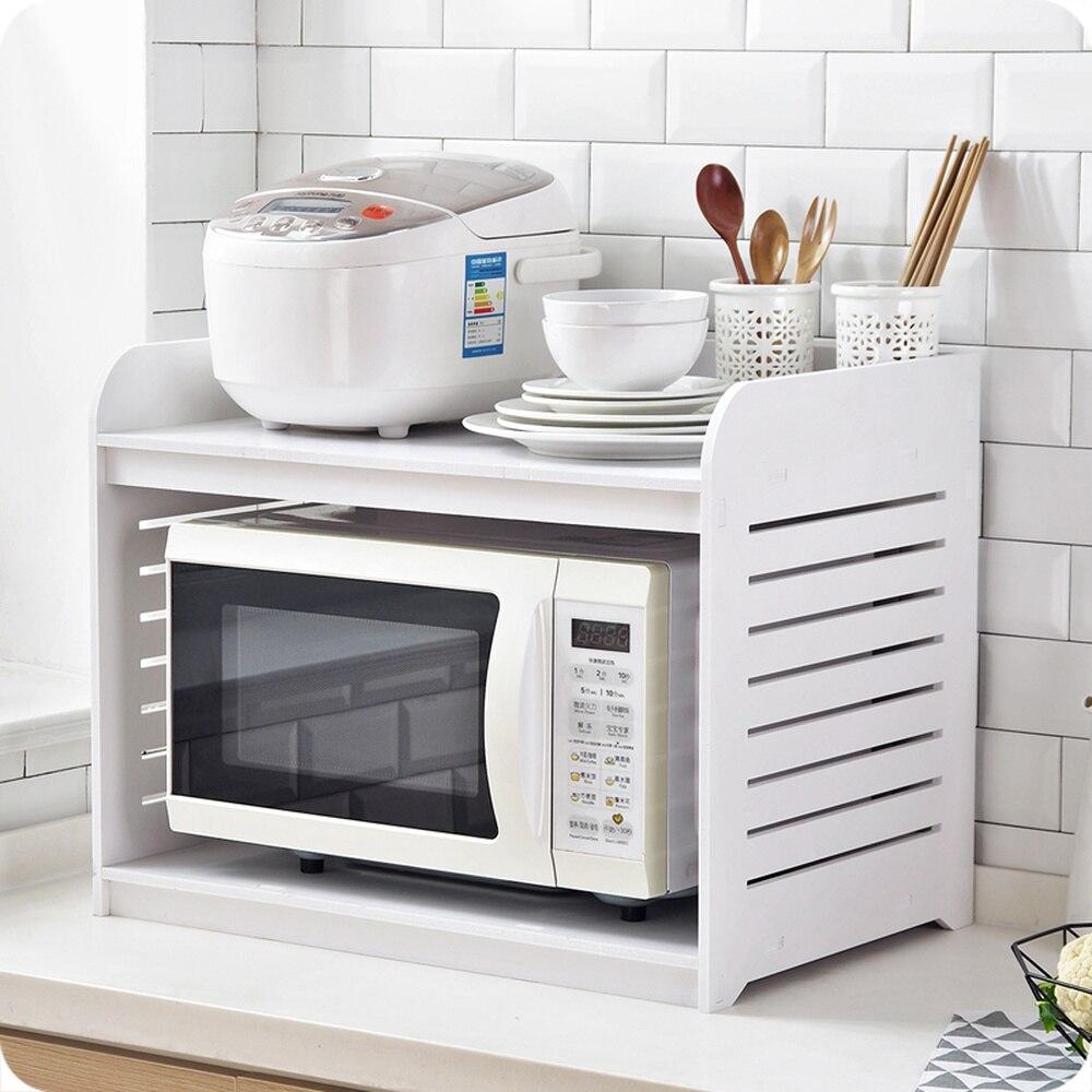 Micro-ondes grille du four four à bois étagère cuisine étagère à épices fournitures de cuisine comptoir rack de stockage wx9031605