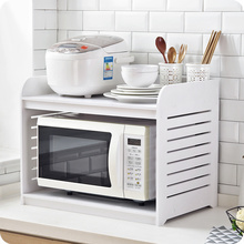 Микроволновая печь стойку дровяной печи полка кухонная полка для специй кухонные принадлежности столешницы стеллаж для хранения wx9031605
