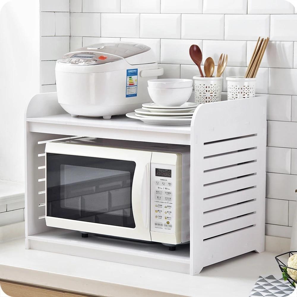 etagere de rangement pour four a micro ondes en bois a1 etagere pour epices fournitures de cuisine meuble du comptoir wx9031605