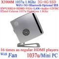 Intel Celeron Dual Core 1037u mini pc 12 v 1.8 Ghz mini pc linux pc para banco office school inicio etc