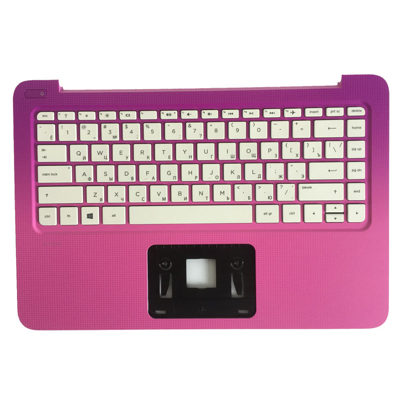 NEW Russian Laptop keyboard For HP Stream 13-C027TU C002DX C032TU with C shell palmrest cover Keyboard