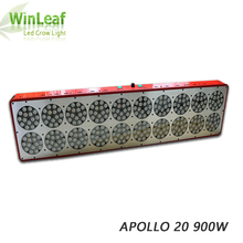Apollo 20 Led Grow Lights Lamp Full Spectrum 3w chip for Indoor Plants Greenhouse Tent Hydroponic Medical Seed and flowering