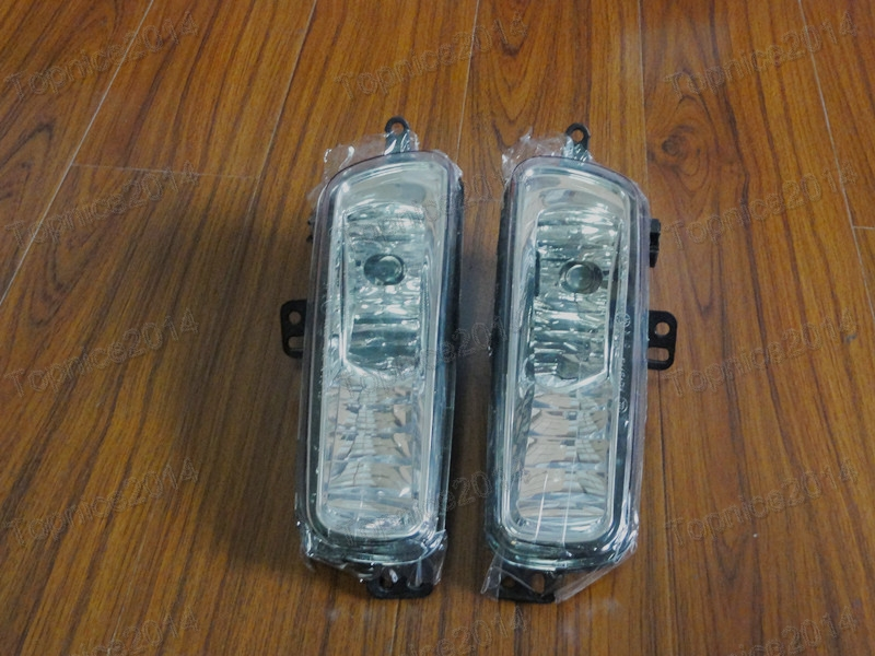 2Pcs Car Styling Front Bumper Driving Fog Light Lamps Left Right Side New For Ford Focus