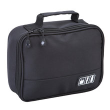 Nylon Digital Storage Bags Camera Organizers Portable Cosmetic Bag USB Cables Earphone Travel Cases for Electronic