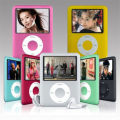 Verdadera 8 GB 1.8 pulgadas de Pantalla Reproductor MP3 3o Gen Ebook Reader Photo Viewer FM Radio Grabadora de Voz