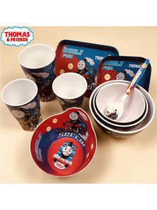 Tableware Thomas Children's Cartoon Fork Bowl 10piece-Set Cup Baby
