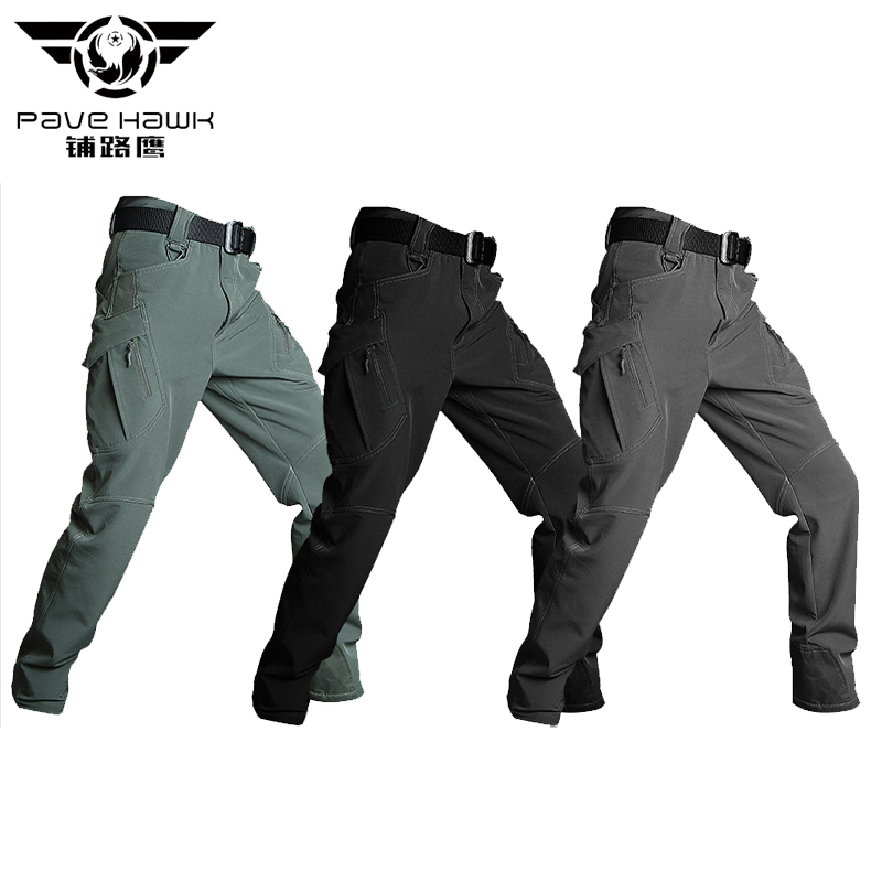 Thermal Reflection Warm Waterproof Soft Shell Work Casual Pant Men Army Military Trousers Men's Tactical Cargo Pants Male Winter