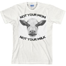 """Milk is for Babes – Go Vegan"" t-shirt"