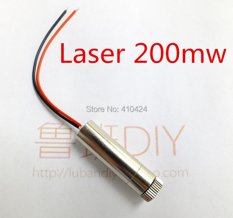 Laser Module Mini Engraving Machine Cnc Pats 200mw Red