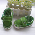Free Shipping Green Baby Cotton Fabric Boots Kids Shoes Enfant First Walker Boys Soft Comfortable Pre-walkers Infant Shoes