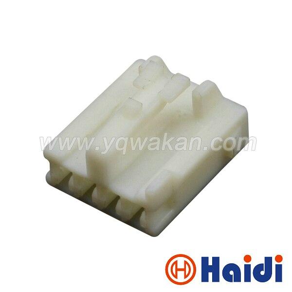 Frete grátis conjuntos 4pin 5 plástico plugue elétrico fêmea cablagens conector do cabo 7283-1044