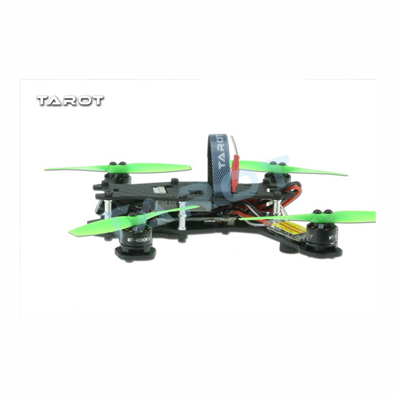 Tarot-RC TL130H1 RTF Mini Racing Drone Alien 130 Quadcopter Carbon Fiber Frame with Controller Motor ESC Prop FPV Parts купить