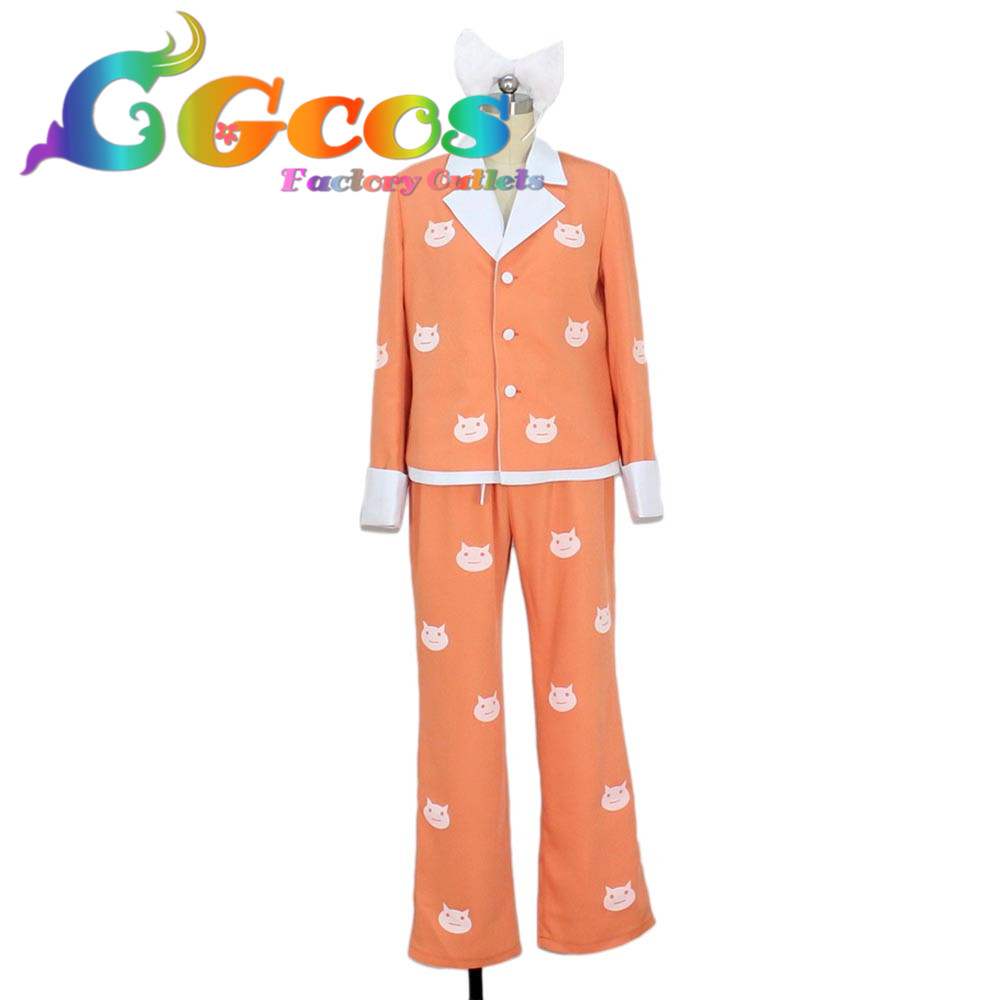 CGCOS Free Shipping Cosplay Costume Bakemonogatari Black Hanekawa Tsubasa Uniform Retail/Wholesale Halloween Christmas Party купить недорого в Москве