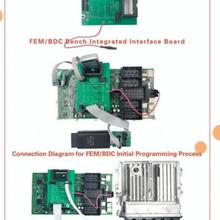 Yanhua ACDP FEM/BDC настольная интегрированная интерфейсная плата