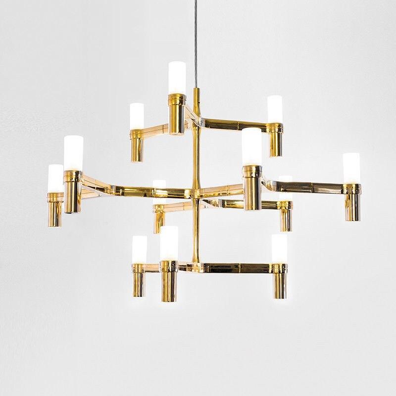 Современные светодиодный подвесной светильник 12 головок Корона незначительные подвесной светильник для столовой Гостиная подвесные свет
