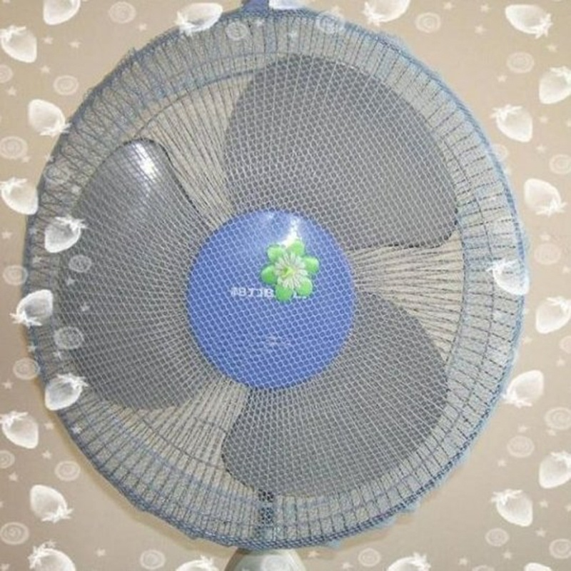 Baby Safety Mesh Nets Cover Finger Protector Fan Guard Dust Cover For Kids