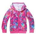 Trolls Roupas Meninas Outerwear Crianças Primavera Casacos Trench Coats Para As Meninas das Crianças Jaquetas Para Roupas Adolescente Monya
