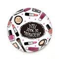100 Unids/lote 133 Patrones Lindo Pequeño Bolsillo de Espejo de Maquillaje Compacto Espejo de Mano Portátil Mini Mini Belleza Maquillaje Herramientas de Cosméticos