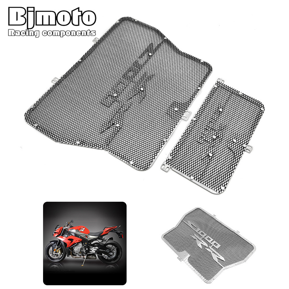 New Radiator Guard Cover Grill Guard Grille For BMW S1000R 14-15 S1000RR 10-16 HP4 12-14 S1000XR 15-16 Oil Cooler Protector arashi motorcycle radiator grille protective cover grill guard protector for 2008 2009 2010 2011 honda cbr1000rr cbr 1000 rr