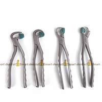 2018 high quality German extraction forceps set Adult dental extraction forceps with silicone protection