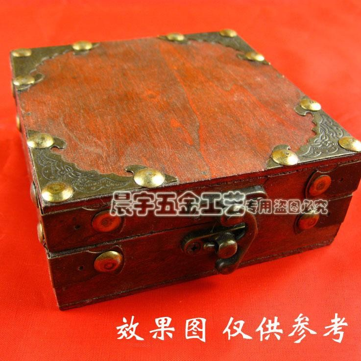 58 * 58mm  Bat angle piece  Gift Boxes Antique patch corners  Pattern corners Corner  Luggage accessories  Wholesale