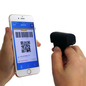 Image 3 - Free Shipping Mini Bluetooth Finger Ring 1D/2D Scanner Barcode Reader IOS Android Windows PDF417 DM QR Code 2D Wireless Scanner