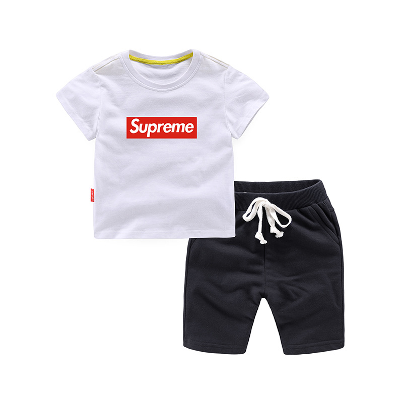 Summer Cotton Baby Boys 2-Piece Sets Children Clothing Sets Kids Sets For 1-8 Years Old kocotree suit for 3 12 years old children unisex cap scarf gloves winter warm three piece sets