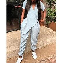Women New Fashion Elegant Clubwear Summer Solid Color Oversi