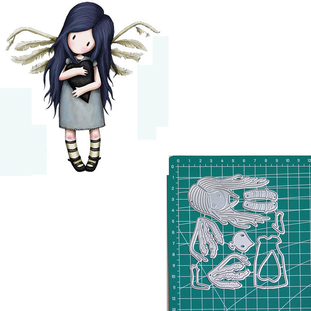 angel new 2019metal cutting dies doll girls for scrapbooking and making paper for cards in Cutting Dies from Home Garden