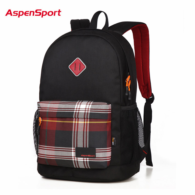 Aspensport School Backpack For Teenage Top Quality Boy ...