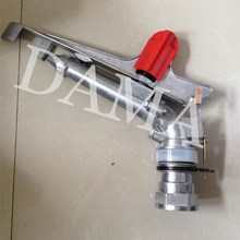 New 1.5″ DN40 zinc Alloy 360 gear drive spray gun nozzle 360 Adjustable angle Agricultural field Sprinklers