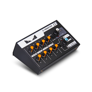 Image 4 - G MARK 8 channels Mini portable mixer audio console Mono/Stereo Sound system Extended for instrument microphone guitar Bass