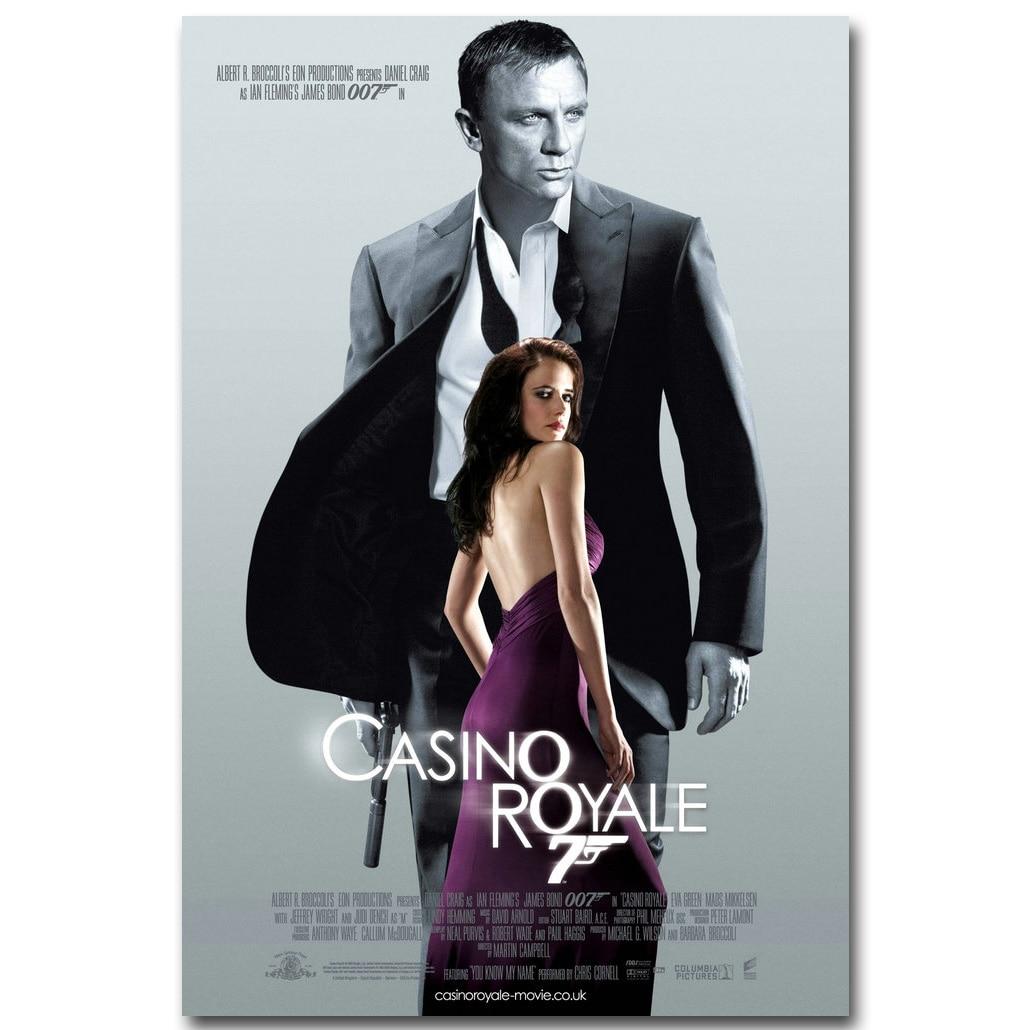 007 Spectre James Bond Daniel Craig Huge Art Silk Poster 12x18 24x36