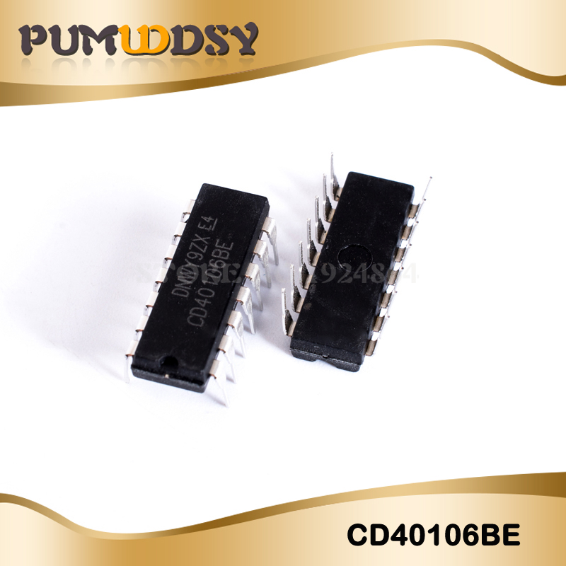 10PCS/LOT CD40106BE CD40106 40106BE 40106 DIP14