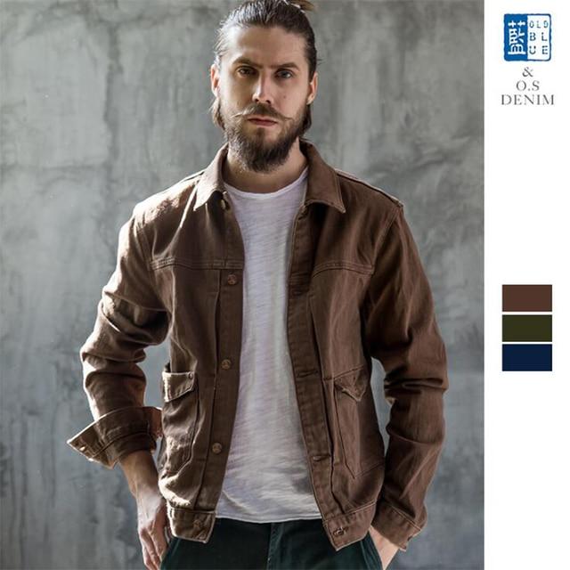 OLDSAINTS мужская Куртка Весна Куртки для Мужчин Случайные Джинсовые Куртки Campera Hombre Slim Старинные Мужские Куртки и Пальто 015-3
