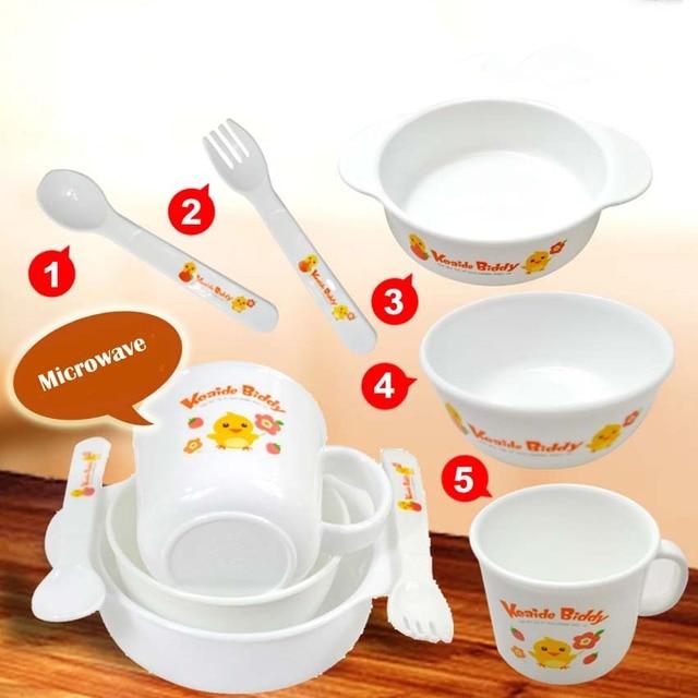 5Pcs/Set Baby Dishes Tableware Dinnerware Set Safe PP Baby Feeding Set Bowl Plate Forks  sc 1 st  AliExpress.com & 5Pcs/Set Baby Dishes Tableware Dinnerware Set Safe PP Baby Feeding ...