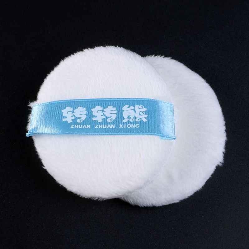Детская пудра слоеного тела тальк порошок слоеного супер мягкая смесь из хлопка моющиеся многоразовые для новорожденных кормящих губка круглый пуф для макияжа