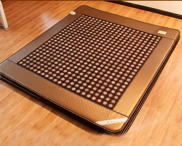 2016 gratis forsendelse nye Digital Display Jade turmalin madras engros leverandører Sundhed elektrisk massage madras 1.0X1.9M