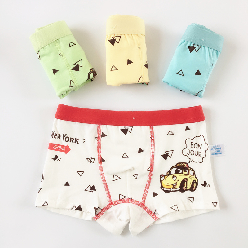 4pcs/lot boys kids children underwear panties childrens pants childs underpants boxers shorts for Baby