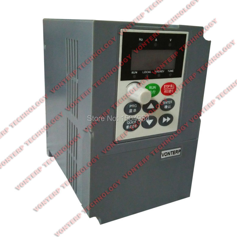 цена на 220v 0.75kw 4.5A 1 phase input and 220v 3 phase output ac drive/VFD/VSD