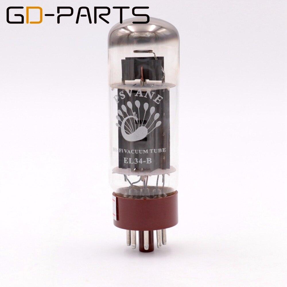 PSVANE HIFI EL34B ламповый заменить 6CA7 EL34 для Hifi аудио Винтаж ламповый усилитель DIY завод Тесты & Match