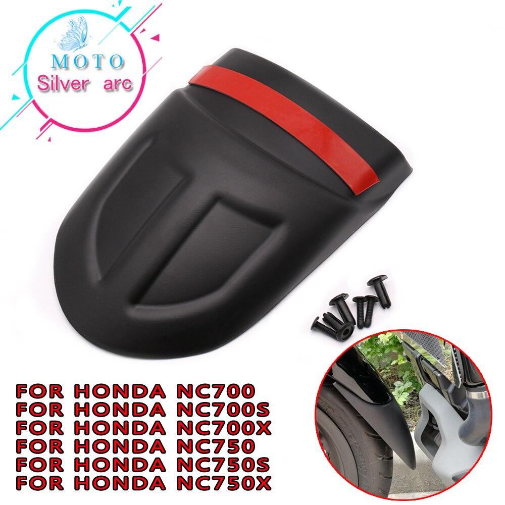 Para Honda NC700X NC700S NC750X NC750S NC700 NC750 S X NC 700X700 S 750 Motocicleta Frente Paralama Fender extender Extensão traseira