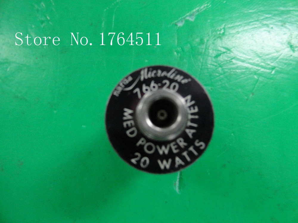 [BELLA] The Supply Of Narda 766-20 DC-4GHZ 20DB Coaxial Fixed Attenuator 20W