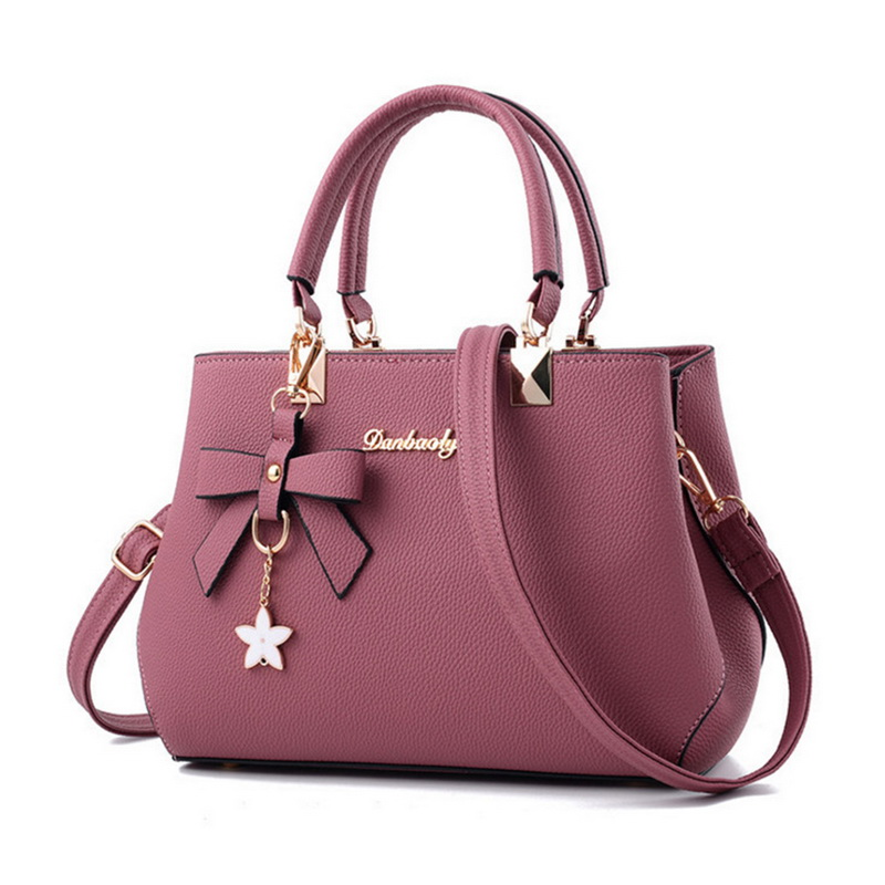 Handbags Designer Crossbody-Bags Messenger Elegant Sweet Women Ladies Luxury Brand Bow