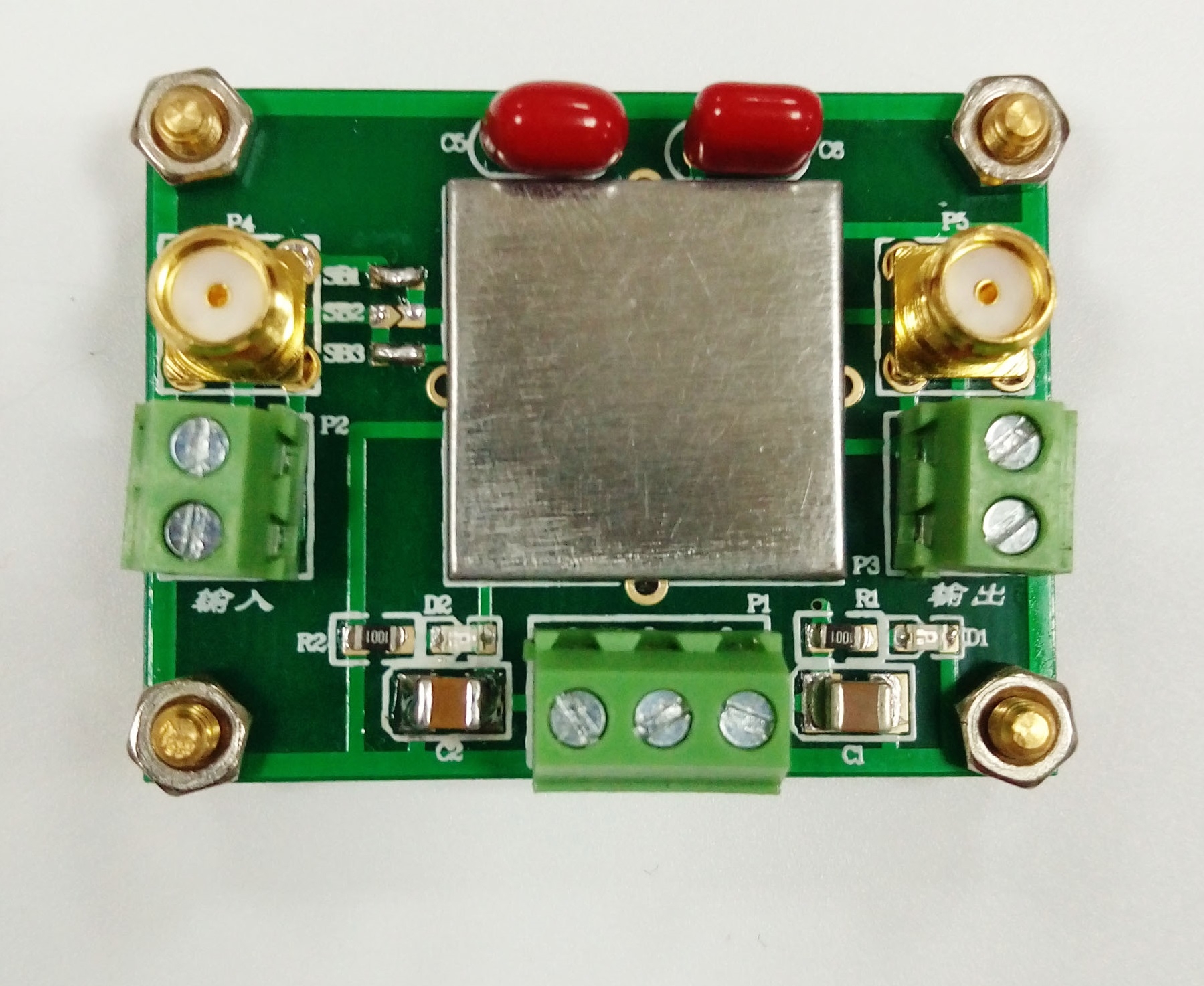 TLC2652 Module Weak Signal Acquisition Amplifier Module DC Signal Amplifier Chopper Amplifier